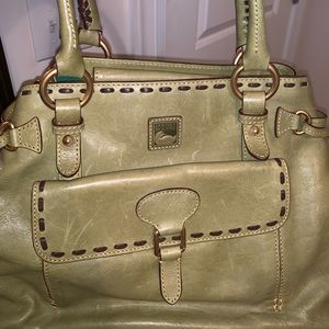Dooney and Bourke olive green purse